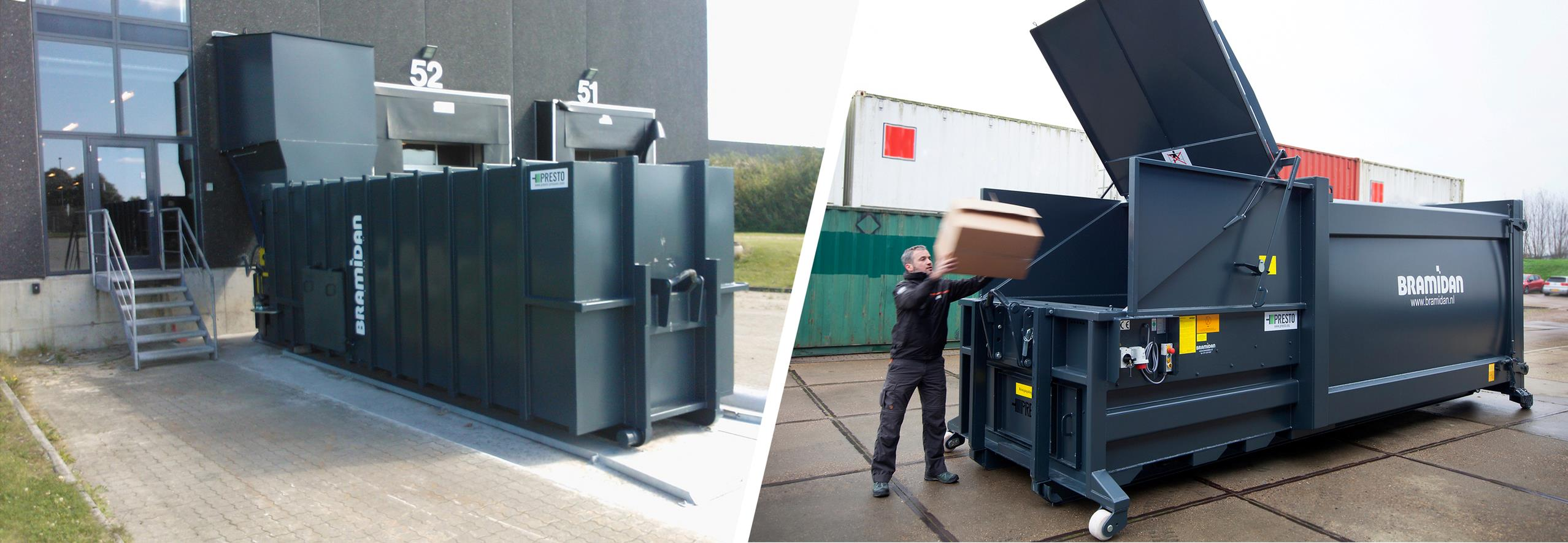 Compactors - for big waste volumes